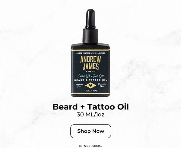 Beard + Tatoo Oil