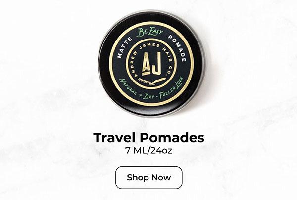 Travel Pomades
