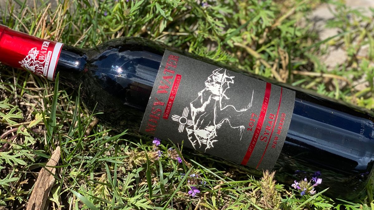 2017 Winemaker's Select Syrah in grass