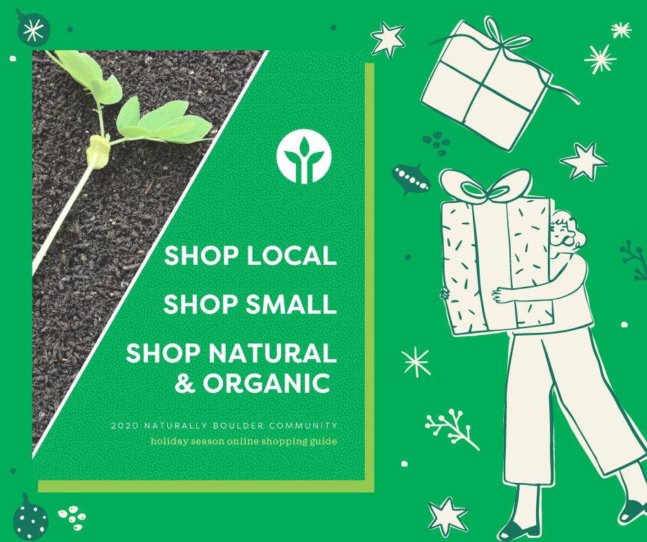 Naturally Boulder Community Online Shopping Guide - Holiday 2020