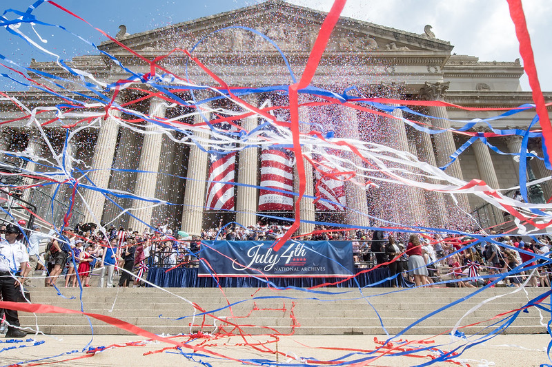 July 4 Celebration at the National Archives in Washington DC, 2019