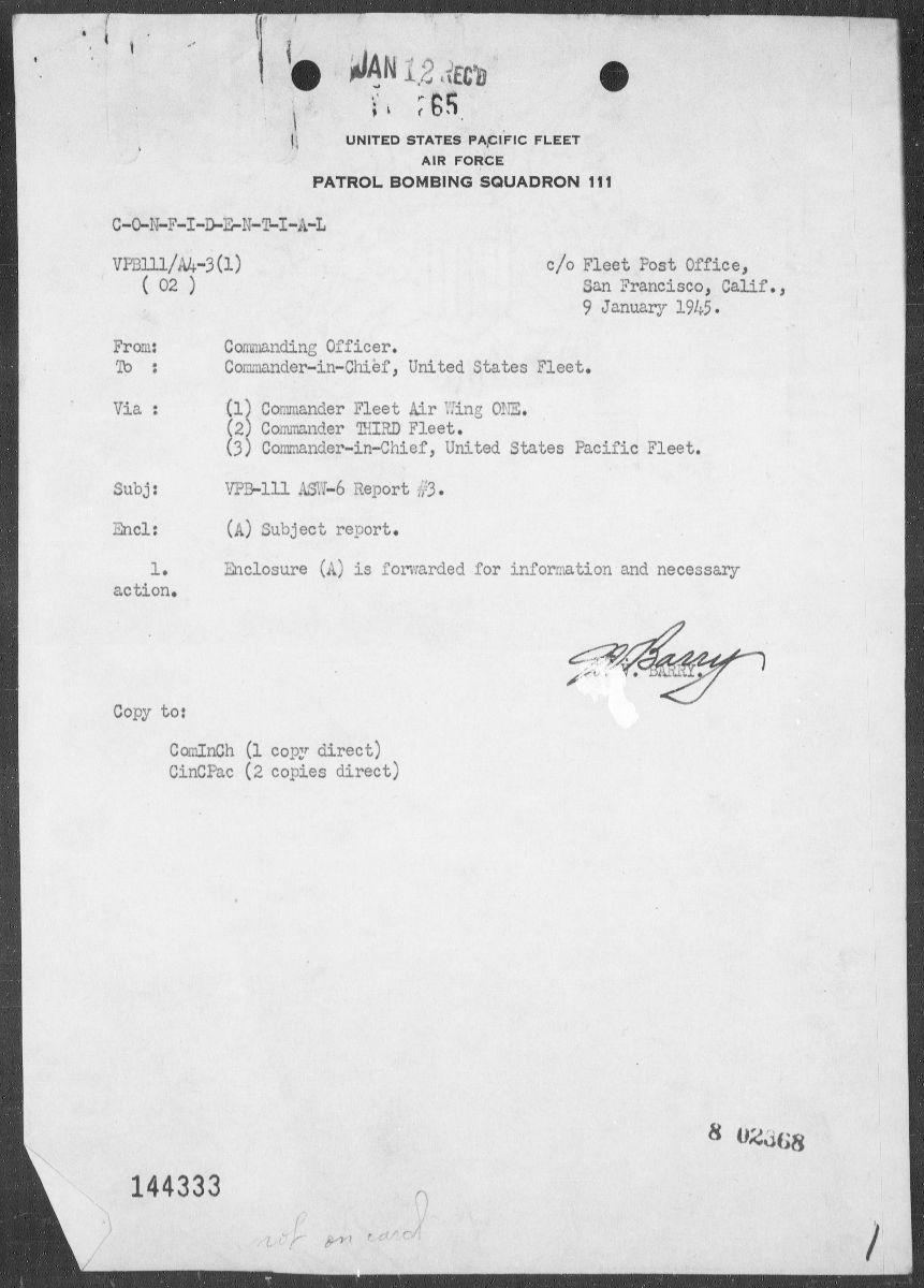 Image of submarine reports
