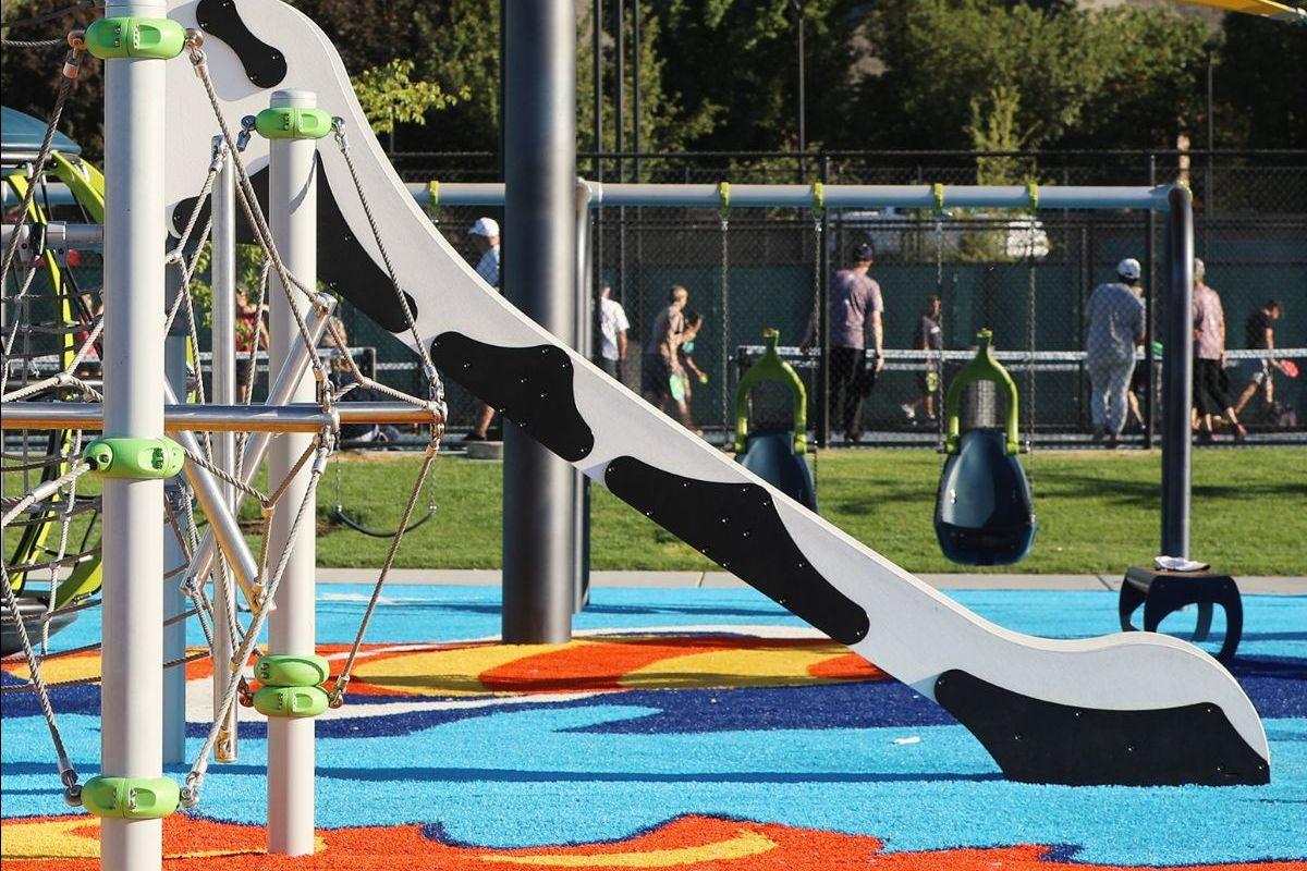 Harvey Park, Cedar Hills, UT - Fast Slide