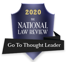 National Law Review Go To Thought Leader Award