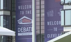 Presidential Debate in Cleveland