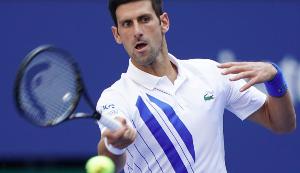 Novak temper tantrum