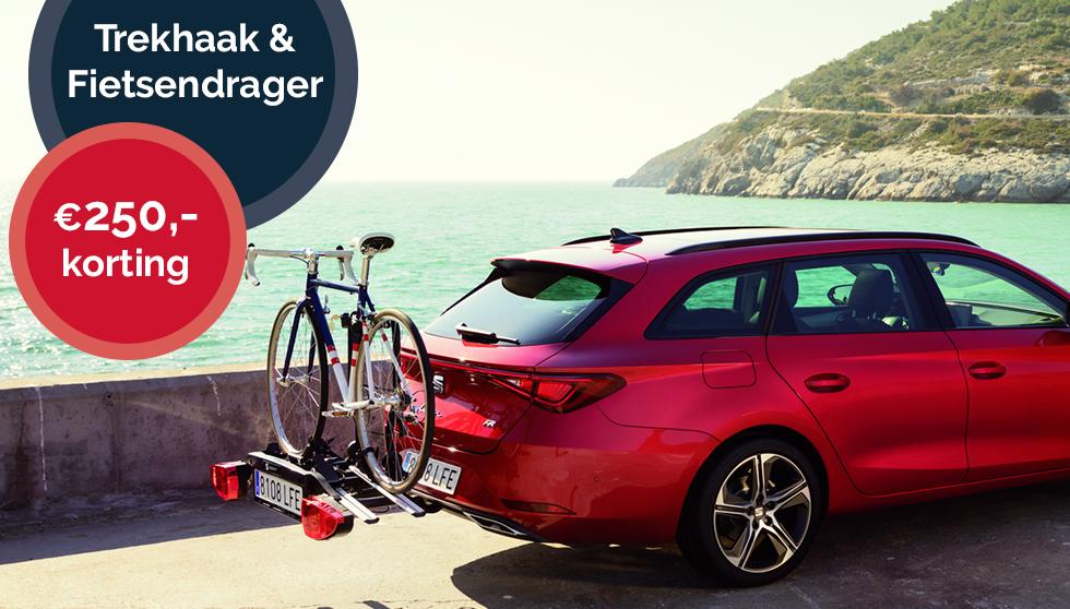 Combideal trekhaak + fietsendrager