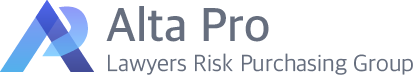 Alta Pro Lawyers Risk Purchasing Group Logo