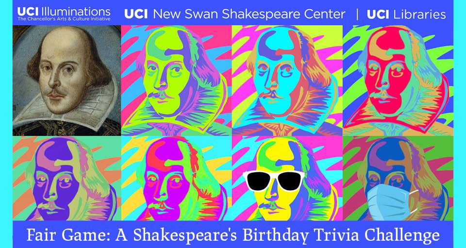 Shakespeare's Birthday Trivia Challenge