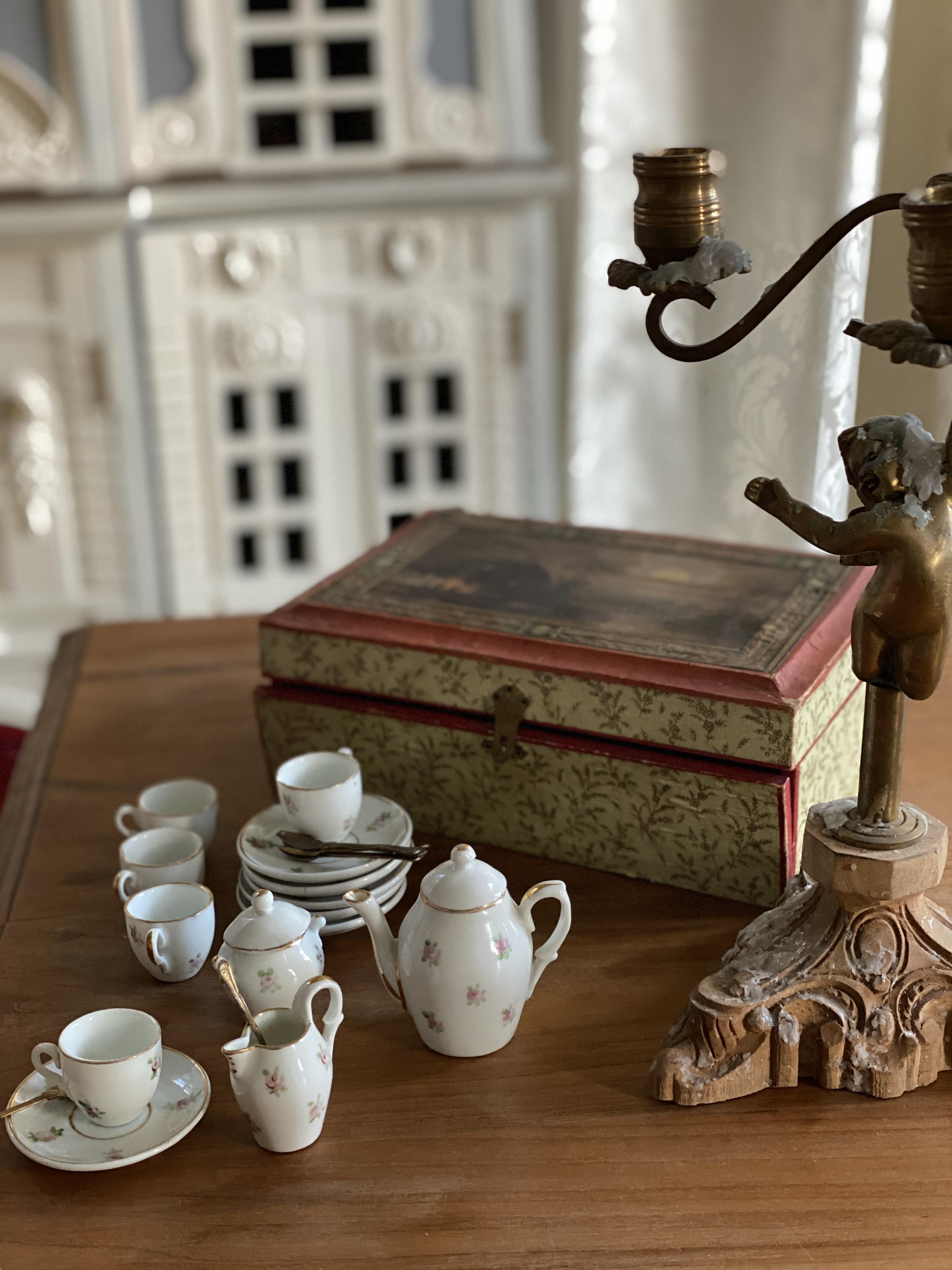 Children Decor Porcelain Lladro Tea set French decor