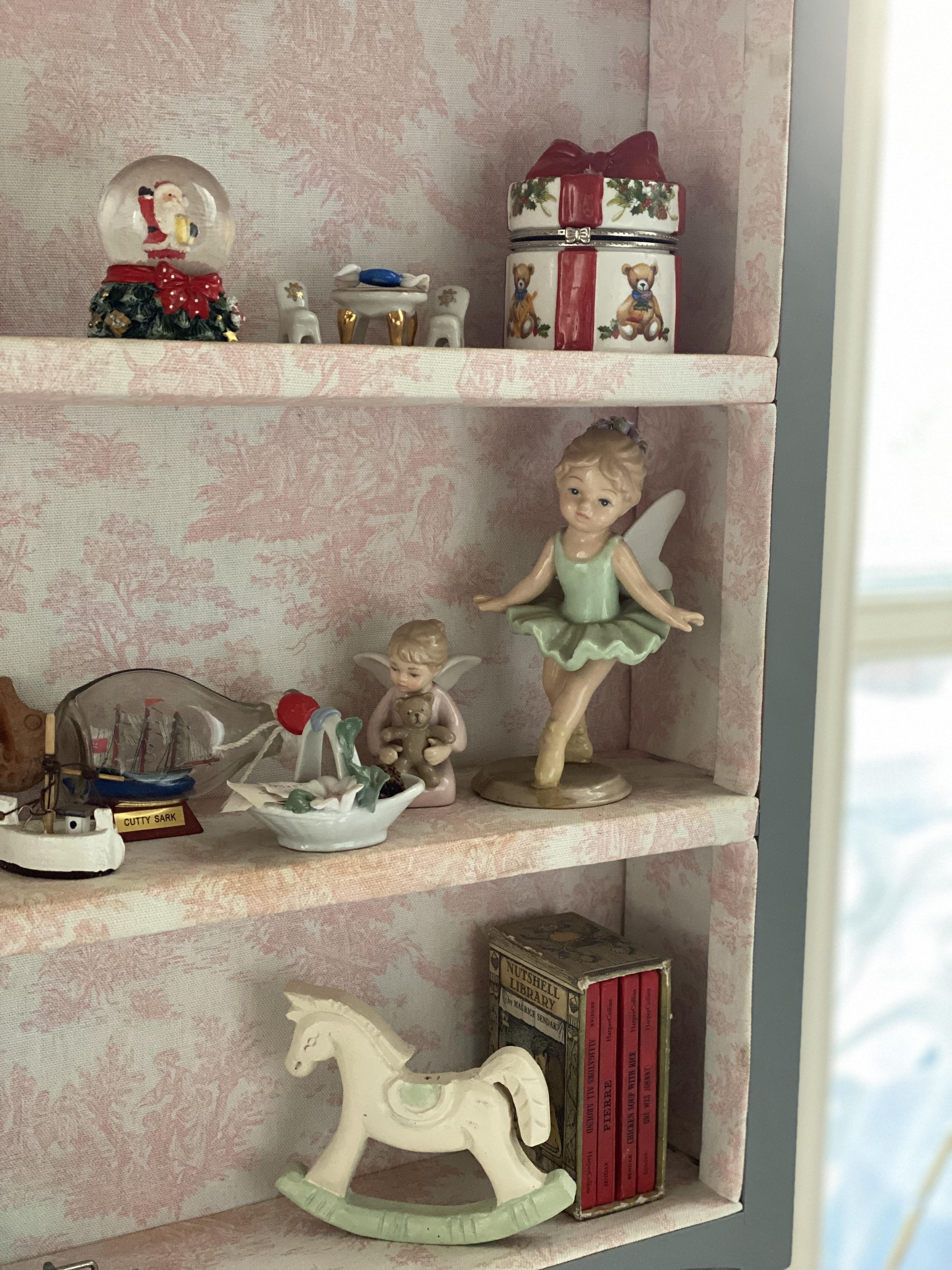 Children Christmas Porcelain Tea set miniature  Villeroy and boch
