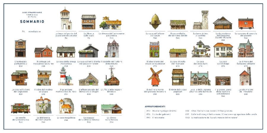 Il libro delle case straordinarie Yoshida Seiji