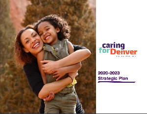 Cover page of Caring for Denver's Strategic Plan