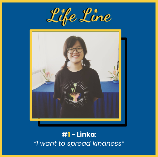 #1 Linka - I want to spread kindness