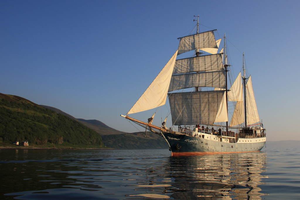 Segelreisen mit der Atlantis von der Ostsee bis zum Mittelmeer