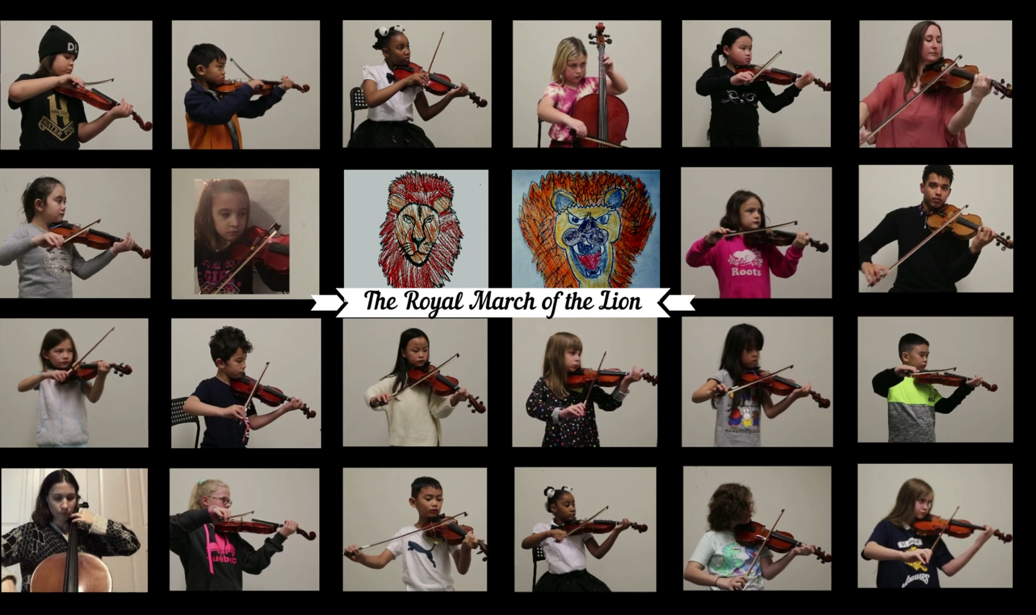 March of the Lion by the Junior Orchestra
