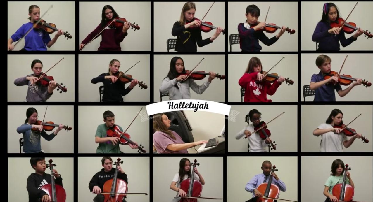 Hallelujah by the Senior Orchestra