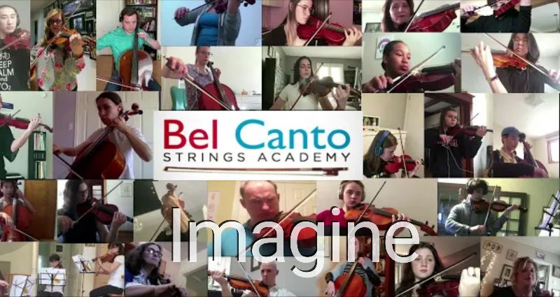 Imagine music video