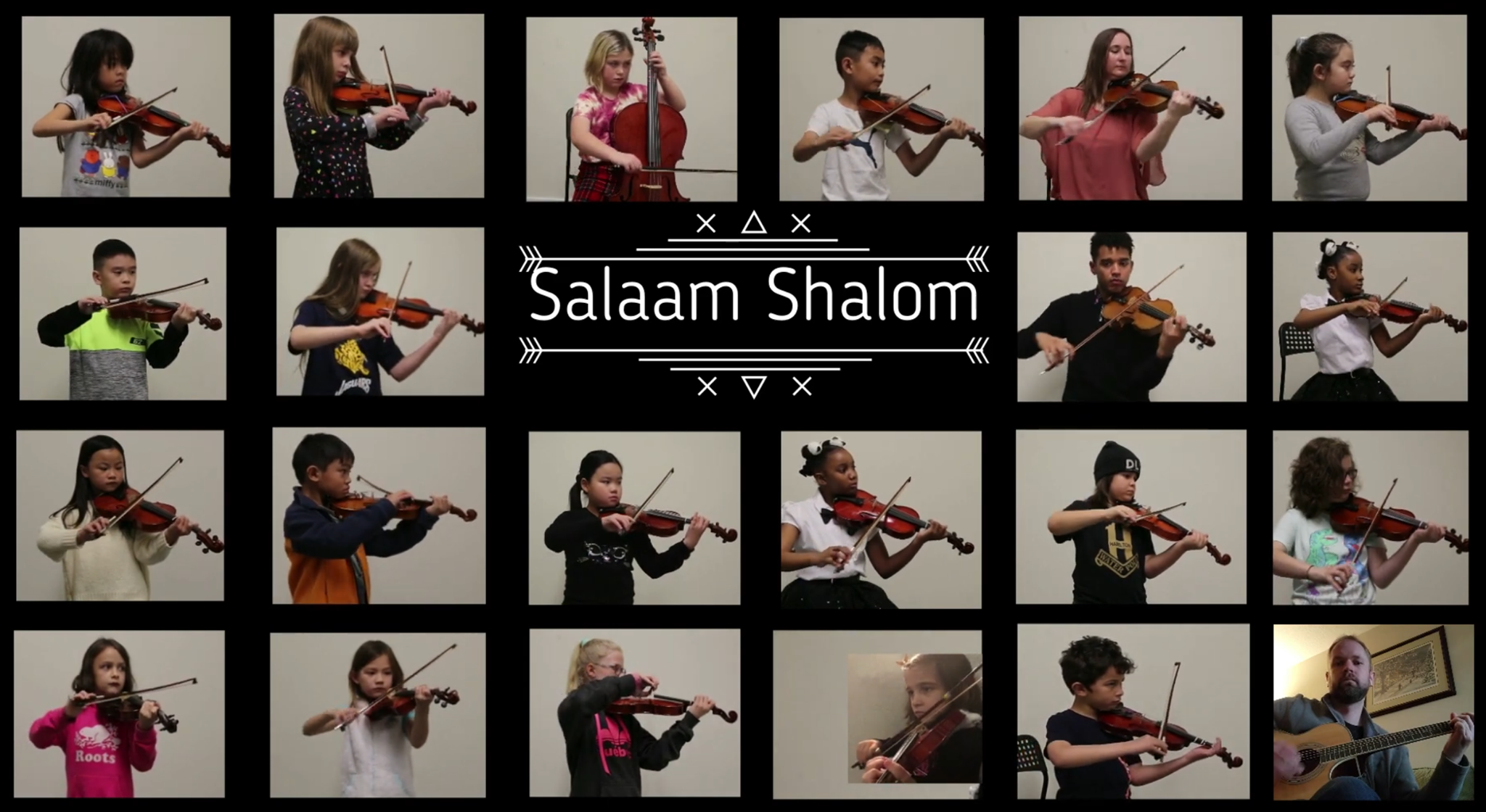 Salaam Shalom by the Junior Orchestra
