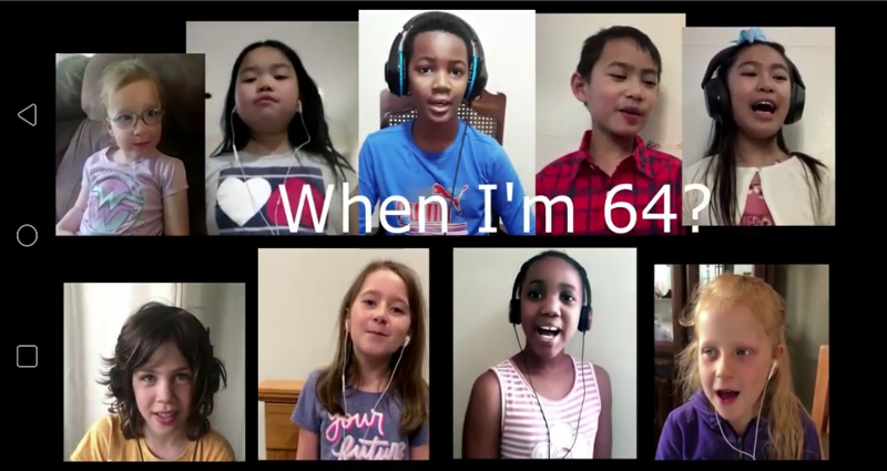 When I'm 64 music video