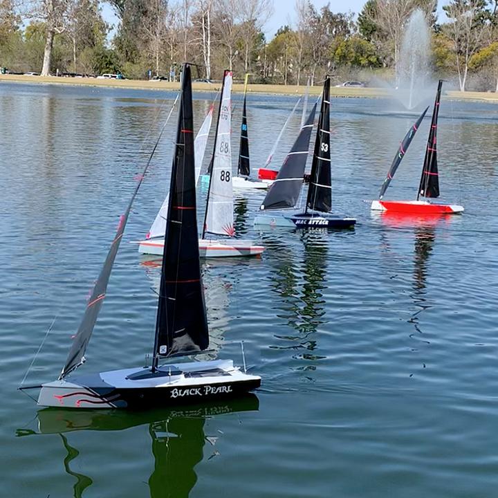 VO70 RC sailboats at OCMSC