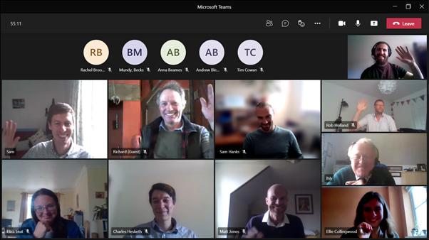 Microsoft Teams Video Call