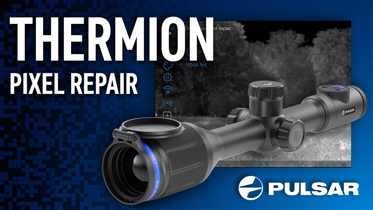 Pulsar expert Cameron walks through the steps to repair a defective pixel on your Thermion.