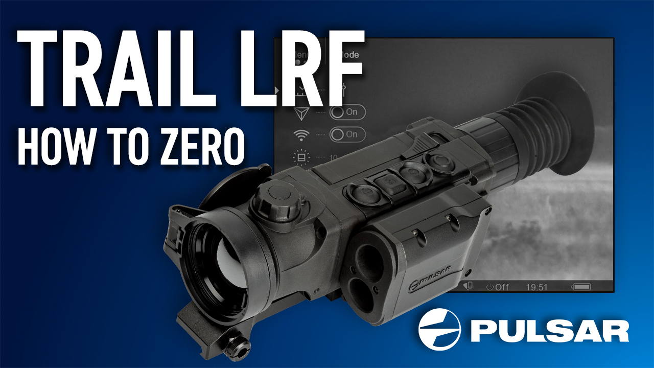 Pulsar expert Cameron walks users through the Trail 'zeroing' function.