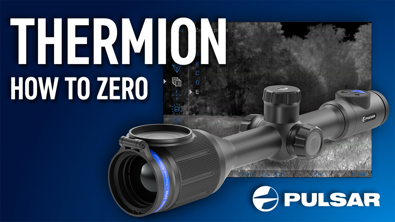 Pulsar expert Cameron describes how to use the 'zeroing' function on the Pulsar Thermion.