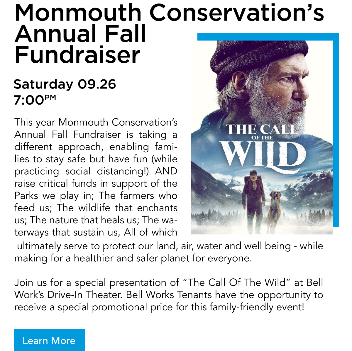 Monmouth Conservation's Annual Fall Fundraiser