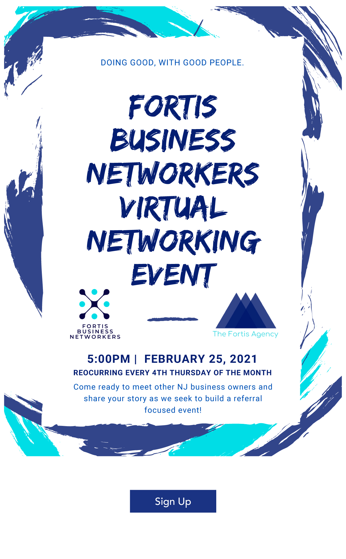 Fortis Business Networkers Virtual Networking Event
