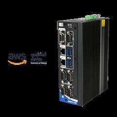 DRPC-130-AL   Fanless DIN-Rail Embedded System