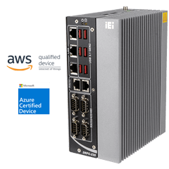DRPC-230-ULT5   Fanless DIN-Rail Embedded System with Intel® Core™ CPU