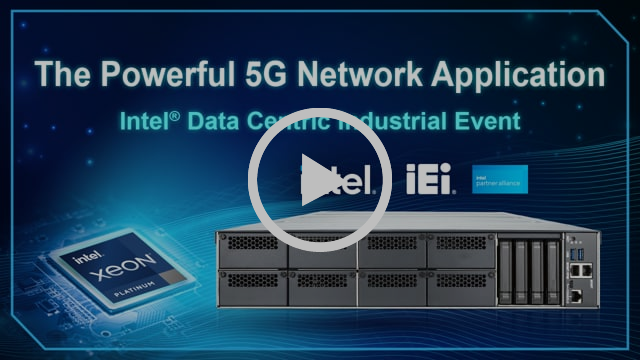 5G network application in Intel Data Centric Industrial Event