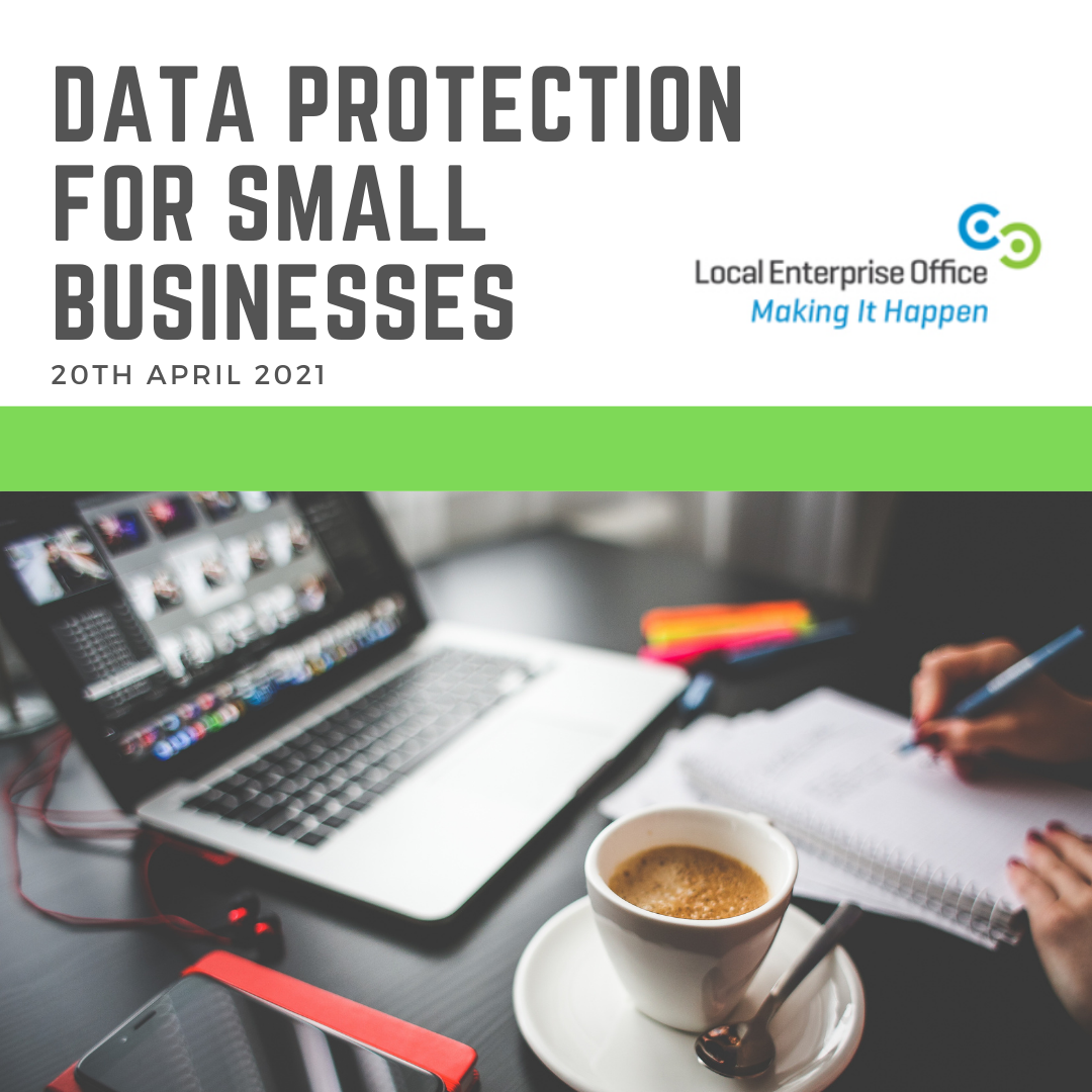 DATA PROTECTION FOR SMALL BUSINESSES