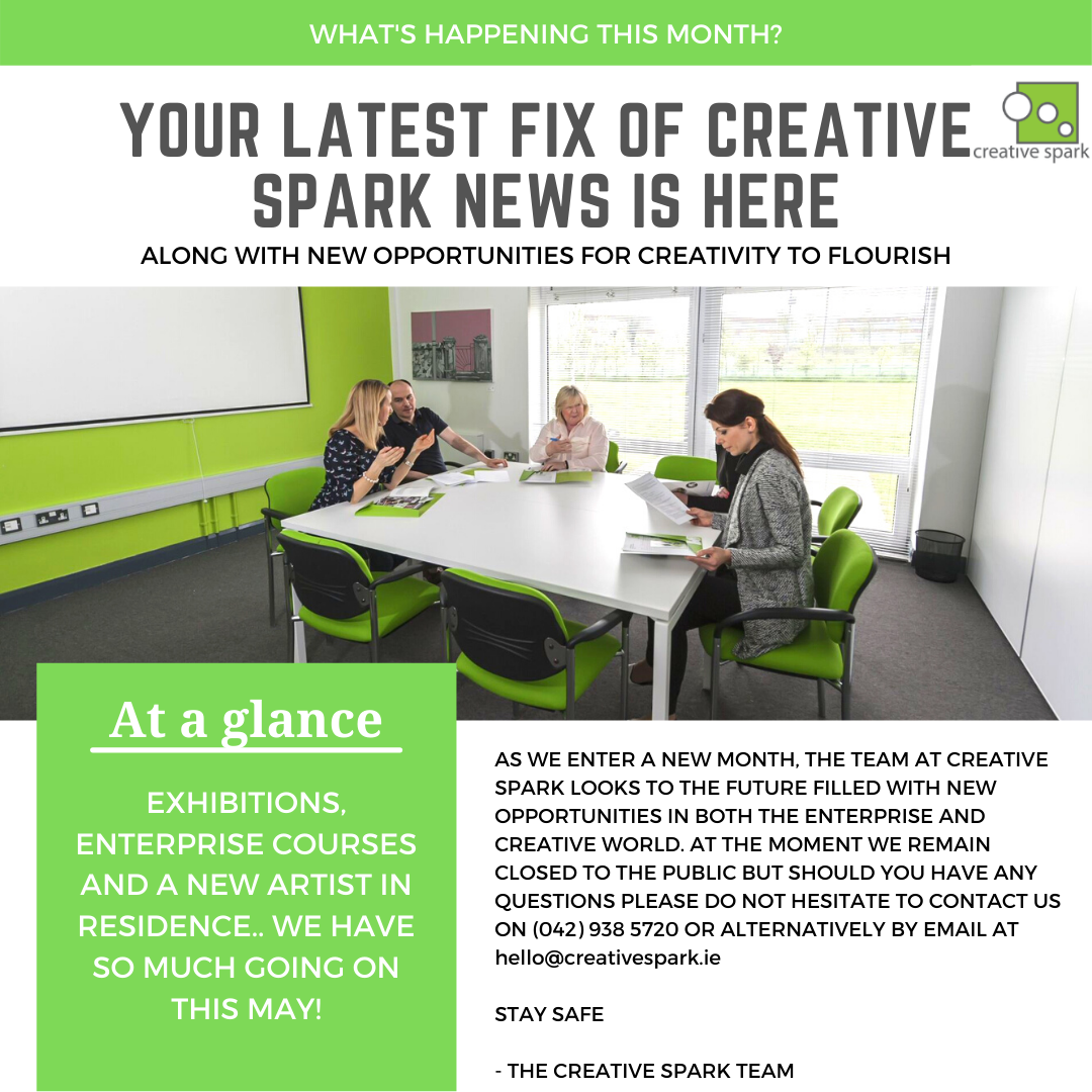 CREATIVE SPARK MAY NEWSLETTER IMAGE 1