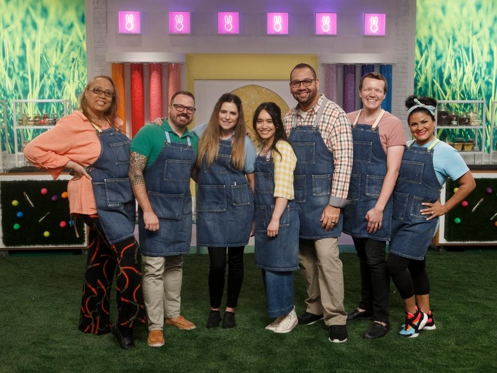 Jeremy Davis on Food Network's Easter Basket Challenge