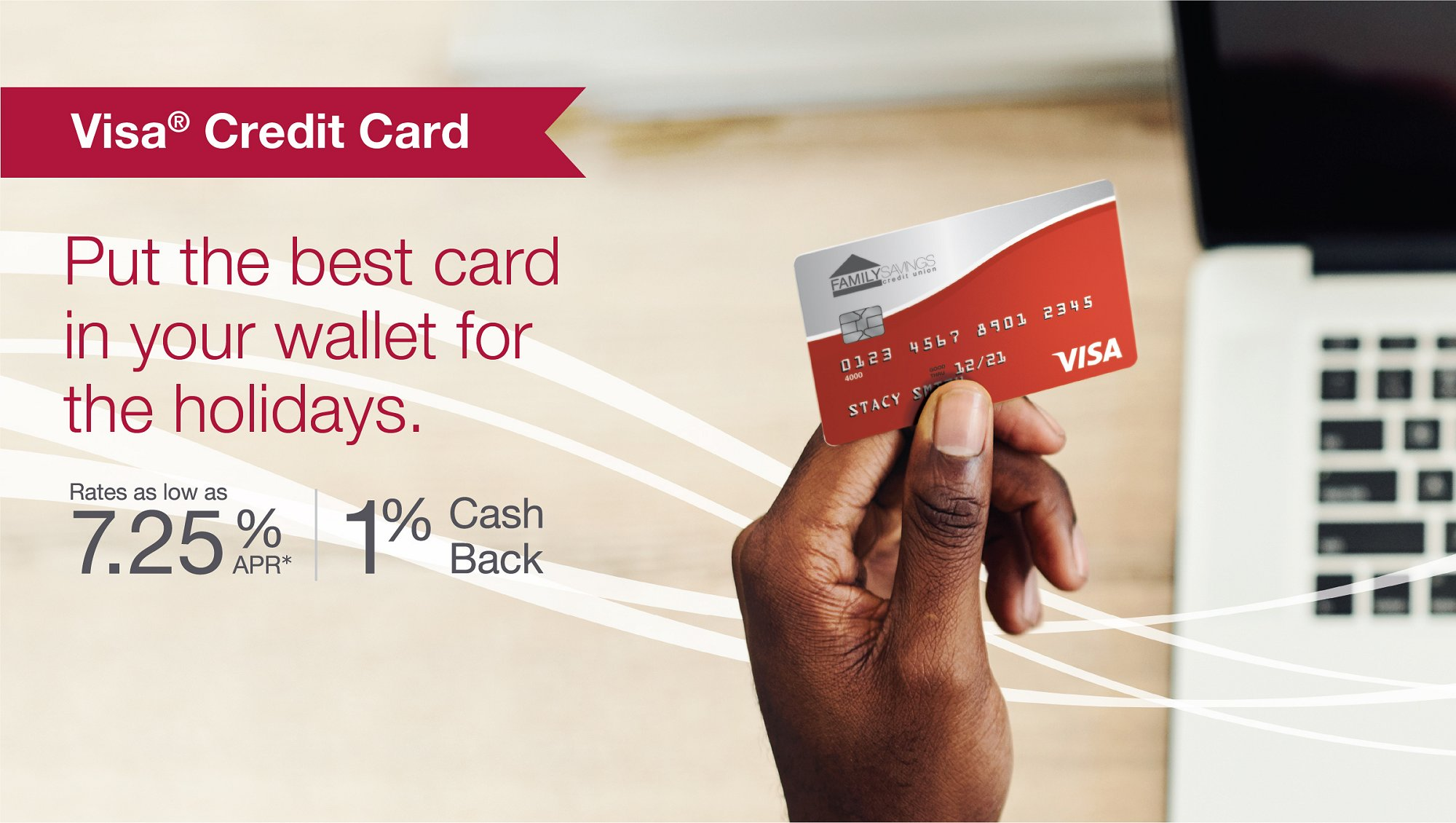 Put the best card in your wallet for the holidays.