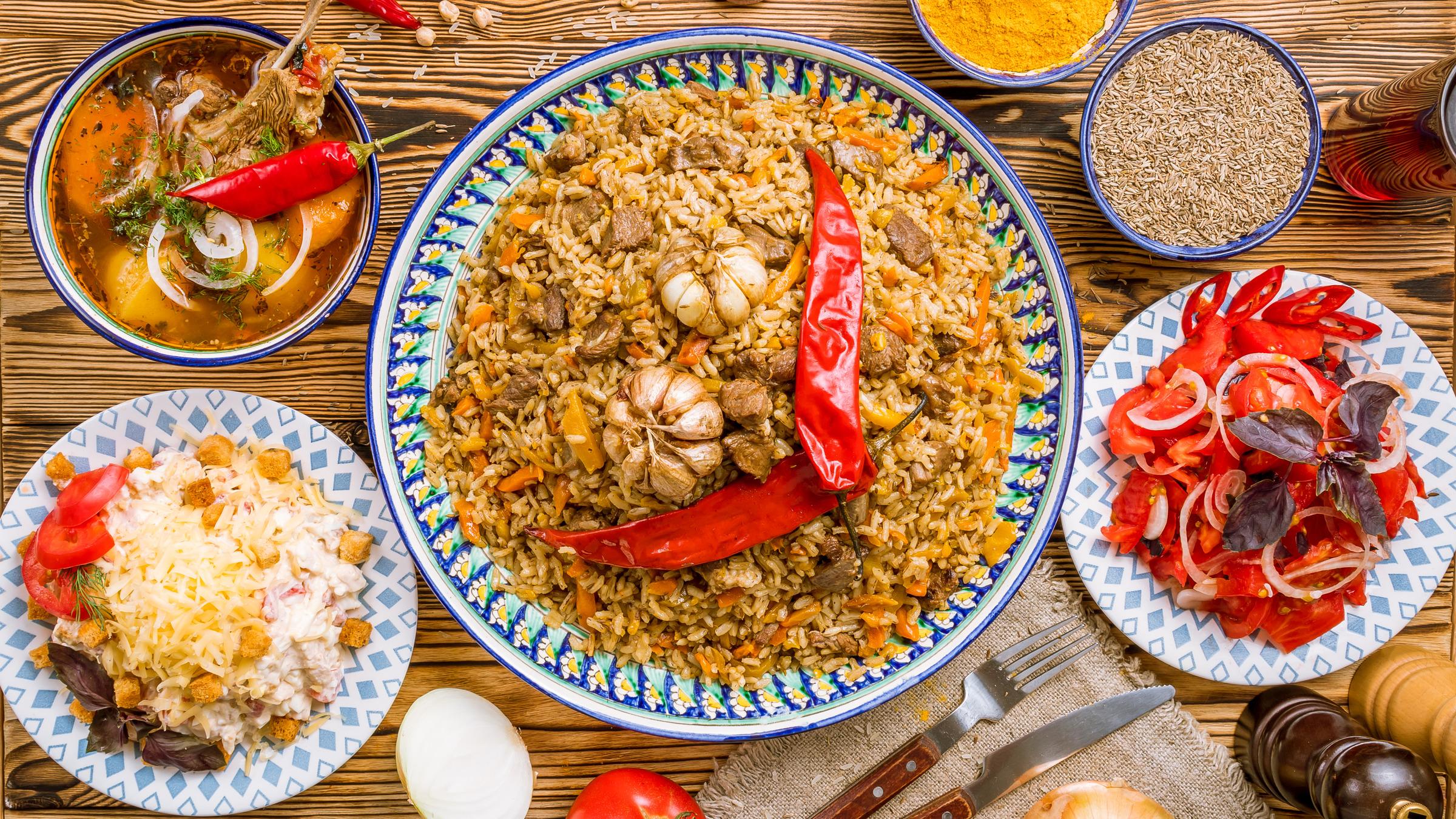 AFC Holidays - Uzbekistan Must Try Food - Uzbekistan Plov Pilaf
