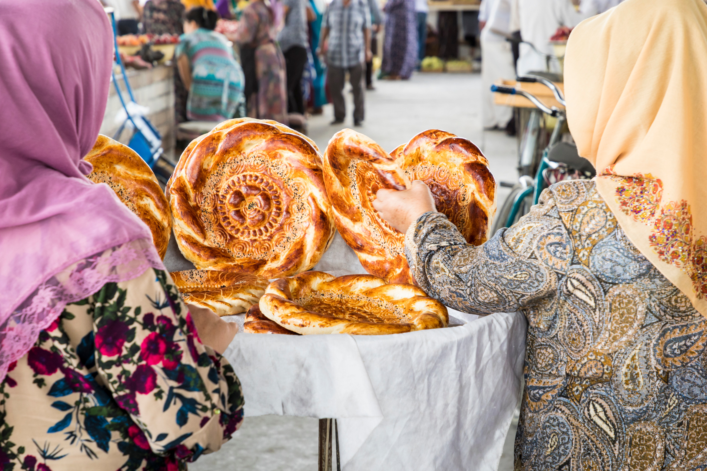 AFC Holidays - Uzbekistan Must Try Food - Uzbekistan Naan Bread