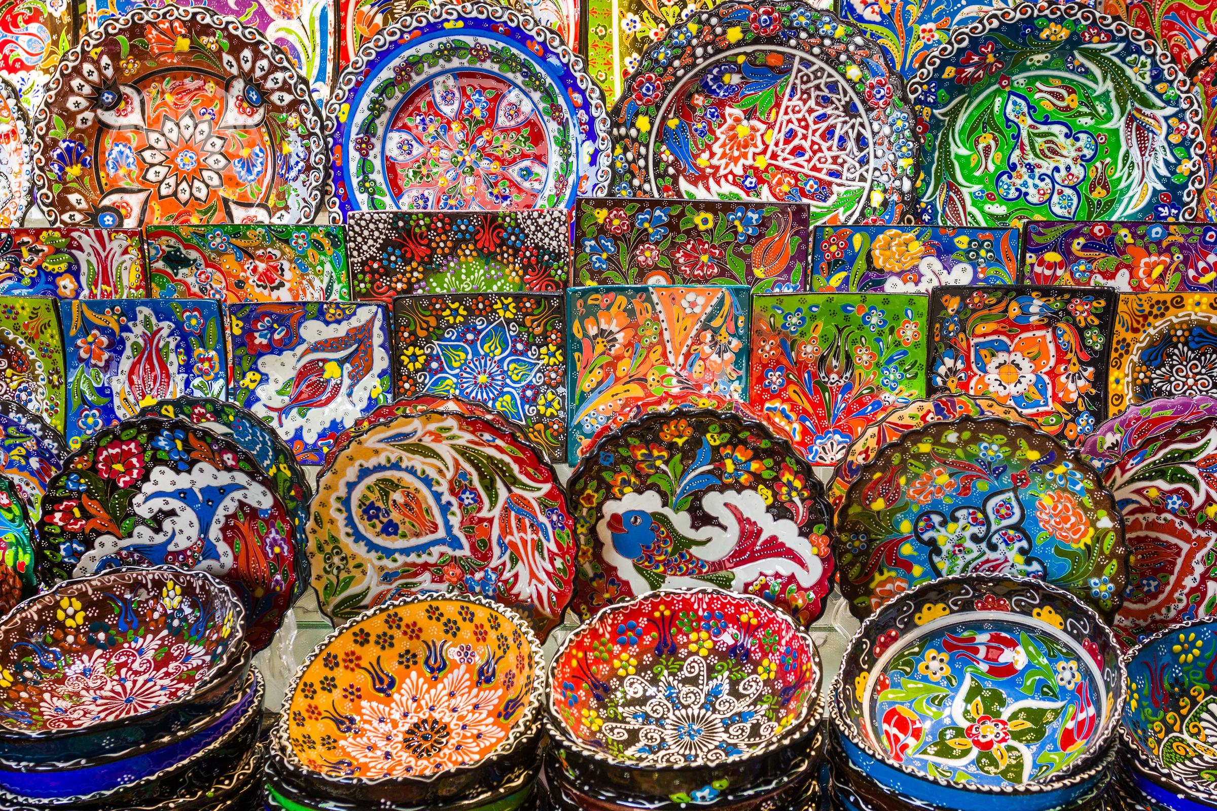 AFC Holidays - Uzbekistan Ceramic Art Souvenir