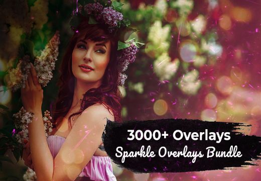 3000+ Sparkle Overlays