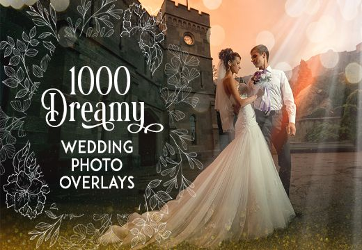 Wedding Photo Overlays