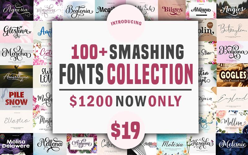 100+ Smashing Fonts Collection