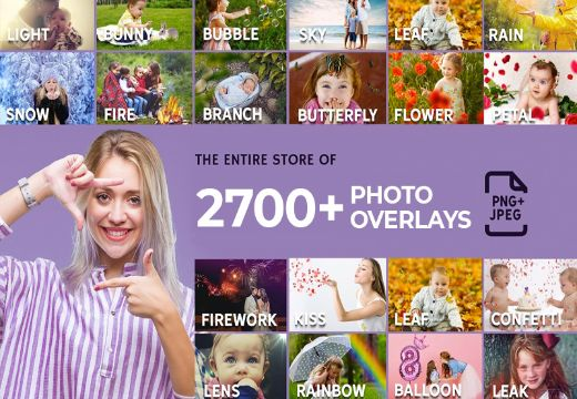 2700+ Photo Overlays