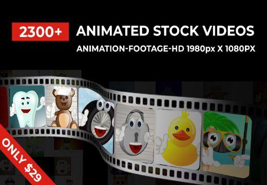 Animated Stock Videos