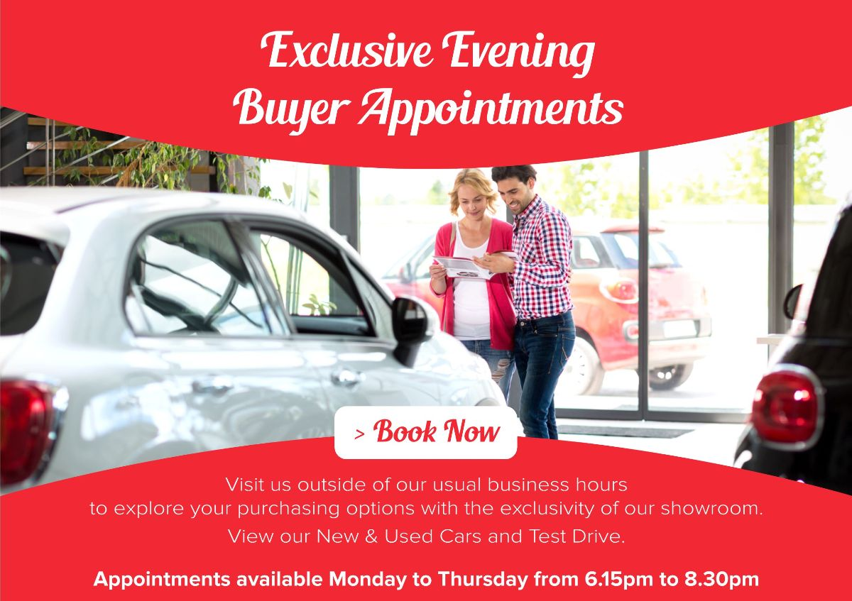 Exclusive Evening Appointments available to book