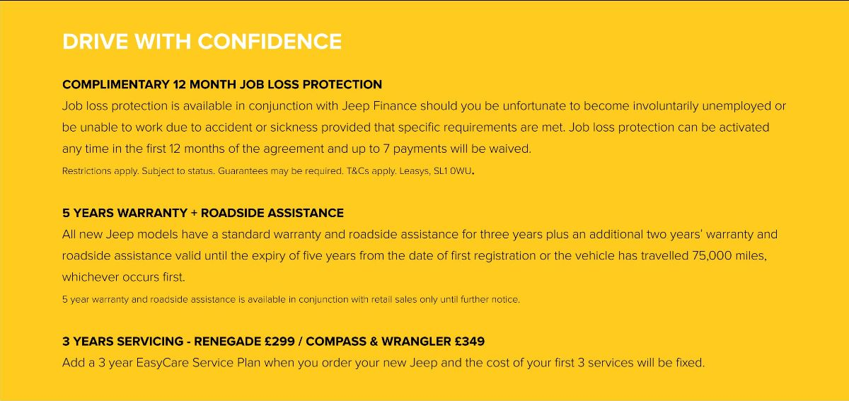 Jeep Drive with Confidence