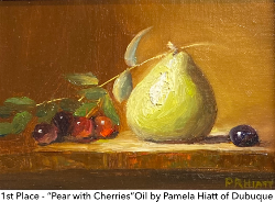 Pear with Cherries