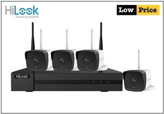 HiLook 4CH 2MP CCTV WI-FI KIT